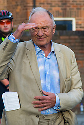 London, June 15th 2017. Former Mayor of London Ken Livingstone visits the scene of the Grenfell Tower fire disaster, expressing his fury at the slipping standards of safety in social housing.