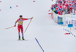 01.03.2019, Seefeld, AUT, FIS Weltmeisterschaften Ski Nordisch, Seefeld 2019, Langlauf, Herren, 4x10 km Staffel, im Bild Johannes Hoesflot Klaebo (NOR) // Johannes Hoesflot Klaebo of Norway during the men's cross country 4x10 km relay competition of FIS Nordic Ski World Championships 2019. Seefeld, Austria on 2019/03/01. EXPA Pictures © 2019, PhotoCredit: EXPA/ Stefan Adelsberger