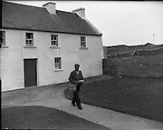 Brendan Behan in Connemara.10/06/1959<br />