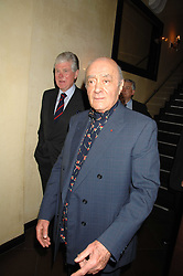 Left to right, MICHAEL COLE and MOHAMED AL FAYED at a party to celebrate the publication of Piers Morgan's book 'Don't You Know Who I Am?' held at Paper, 68 Regent Street, London W1 on 18th April 2007.<br /><br />NON EXCLUSIVE - WORLD RIGHTS