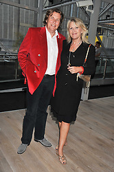 THEO & LOUISE FENNELL at a party to celebrate the publication of her  autobiography - The World According to Joan, held at the British Film Institute, South Bank, London SE1 on 8th September 2011.
