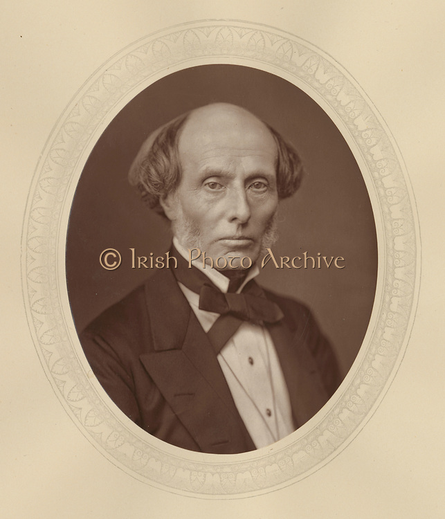 'Henry Manisty (1808-1890) c1880, English lawyer. Appointed as a judge in 1876.'