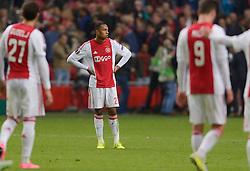 17-09-2015 NED: UEFA Europa League AFC Ajax - Celtic FC, Amsterdam<br /> Ajax heeft in zijn eerste duel in de Europa League thuis moeizaam met 2-2 gelijkgespeeld tegen Celtic / Kenny Tete #23