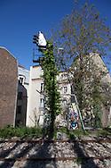 Paris 12th district, the petite ceinture, the former train line