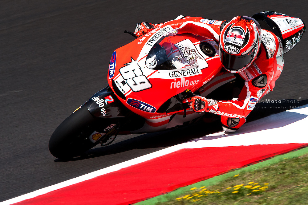 2011 MotoGP World Championship, Round 8, Mugello, Italy, 3 July 2011, Nicky Hayden