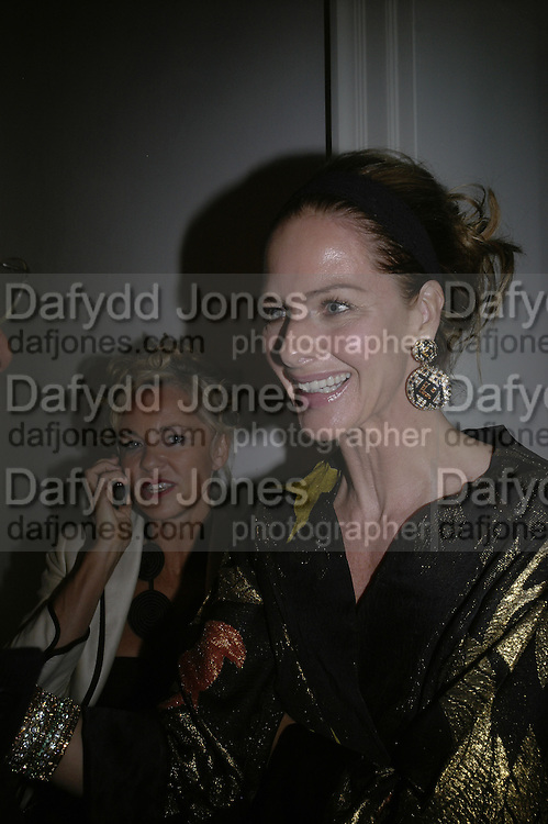 AMANDA ELIASCH AND TRINNI WOODALL, Tatler Summer party. Home House. Portman Sq. London. 27 June 2007.  -DO NOT ARCHIVE-© Copyright Photograph by Dafydd Jones. 248 Clapham Rd. London SW9 0PZ. Tel 0207 820 0771. www.dafjones.com.