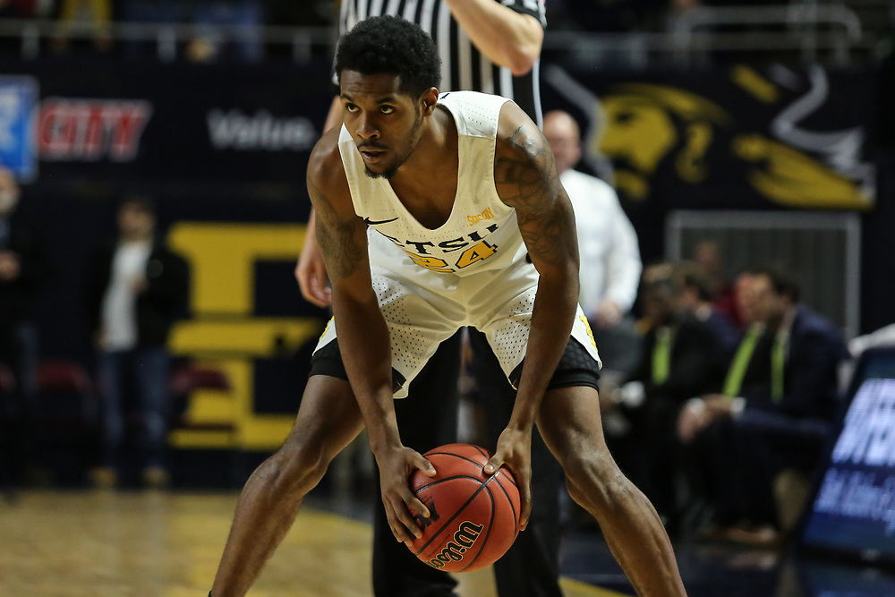 January 13, 2018 - Johnson City, Tennessee - Freedom Hall: ETSU guard Jermaine Long (24)<br /> <br /> Image Credit: Dakota Hamilton/ETSU
