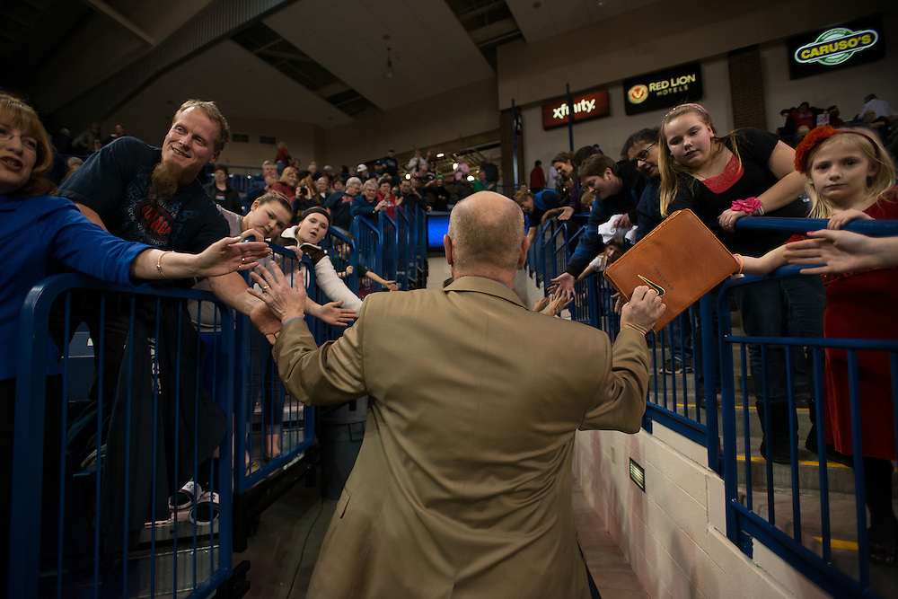 Gonzaga Women's Basketball vs. St. Mary's. Photo by Rajah Bose