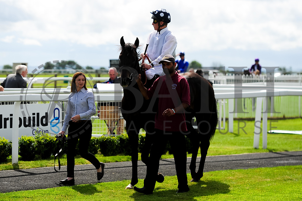 Modern British Art ridden by Jason Watson and trained by Michael Bell in the Ebf Maiden Stakes (Class 5) race. - Ryan Hiscott/JMP - 07/08/2019 - PR - Bath Racecourse - Bath, England - Race Meeting at Bath Racecourse