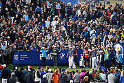 Jordan Spieth (Usa) during the friday morning fourballs session of Ryder Cup 2018, at Golf National in Saint-Quentin-en-Yvelines, France, September 28, 2018 - Photo Philippe Millereau / KMSP / ProSportsImages / DPPI