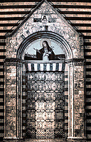 """Holy Door of the Church of Saint Agnes of Montepulciano – BW""…<br />