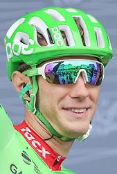 02.07.2017, Duesseldorf, GER, Tour de France, 2. Etappe von Düsseldorf (GER) nach Lüttich (BEL/203 km), im Bild ROLLAND Pierre (FRA, Team Cannondal-Drapac) // Pierre Rolland of France during Stage 2 from Duesseldorf (GER) to Luettich (BEL/203 km) of the 2017 Tour de France in Duesseldorf, Germany on 2017/07/02. EXPA Pictures © 2017, PhotoCredit: EXPA/ Martin Huber