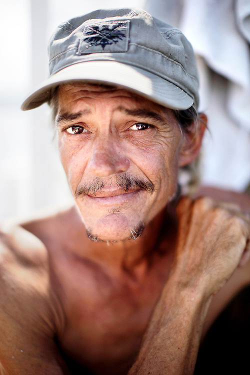 Scot Janikula, 50, has been living on his boat in Estero Bay since 1998. Janikula was recently arrested for boating under the influence and was sentenced to 30 days in prison which he serves on the weekends. Janikula says the only thing he's addicted to now is caffeine, with daily trips to the convenience store to get several cans of Starbucks lattes.