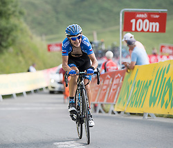 06.07.2017, Kitzbühel, AUT, Ö-Tour, Österreich Radrundfahrt 2017, 4. Etappe von Salzburg auf das Kitzbüheler Horn (82,7 km/BAK), im Bild Sergey Firsanov (RUS, Gazprom - Rusvelo) // Sergey Firsanov of Russia (Gazprom - Rusvelo) during the 4th stage from Salzburg to the Kitzbueheler Horn (82,7 km/BAK) of 2017 Tour of Austria. Kitzbühel, Austria on 2017/07/06. EXPA Pictures © 2017, PhotoCredit: EXPA/ Reinhard Eisenbauer