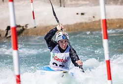 Locnikar Jan (KKK Nivo Celje) during ICF Canoe Slalom Ranking Race Tacen 2018, on April 8, 2018 in Ljubljana, Slovenia. Photo by Urban Meglic / Sportida