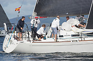 Largs Regatta Festival 2018<br /> <br /> Day 1- GBR3627L, Animal, Kevin Aitken, CCC/RNCYC, First 36.7<br /> <br /> Images: Marc Turner