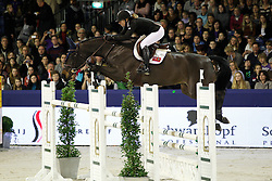 Terceira Jillian (BER) - Bernadien van Westuur<br /> Jumping Amsterdam 2012<br /> © Hippo Foto - Leanjo de Koster