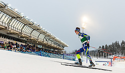 19.02.2016, Salpausselkae Stadion, Lahti, FIN, FIS Weltcup Nordische Kombination, Lahti, Langlauf, im Bild Antoine Gerard (FRA) // Antoine Gerard of France competes during Cross Country Gundersen Race of FIS Nordic Combined World Cup, Lahti Ski Games at the Salpausselkae Stadium in Lahti, Finland on 2016/02/19. EXPA Pictures © 2016, PhotoCredit: EXPA/ JFK