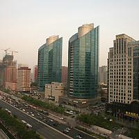 Imagenes de los nuevos edificios y construcciones que muestran una cara mucho mas moderna de China, para el reportaje La Nueva China. Beijing, China/ Fotografo: Bernardo De Niz