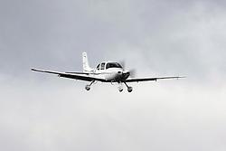 Cirrus SR22 Turbo (registration N310TN) landing at Palo Alto Airport (KPAO), Palo Alto, California, United States of America