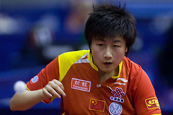 Ding Ning of China at 10th Slovenian Open Table Tennis Championships - Pro Tour Velenje Slovenian Open tournament, in Round 1, on January 15, 2009, in Red sports hall, Velenje, Slovenia. (Photo by Vid Ponikvar / Sportida)