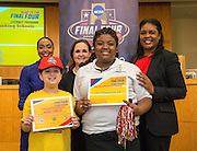 Marshall Elementary School is recognized during the reveal of the 32 finalists in the Houston ISD NCAA Read to the Final Four, November 11, 2015.