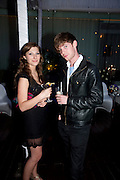 STELLA TAYLOR; LUKE TREADWATER, An evening at Sanderson to celebrate 10 years of Sanderson, in aid of Clic Sargent. Sanderson Hotel. 50 Berners St. London. W1. 27 April 2010 *** Local Caption *** -DO NOT ARCHIVE-© Copyright Photograph by Dafydd Jones. 248 Clapham Rd. London SW9 0PZ. Tel 0207 820 0771. www.dafjones.com.<br /> STELLA TAYLOR; LUKE TREADWATER, An evening at Sanderson to celebrate 10 years of Sanderson, in aid of Clic Sargent. Sanderson Hotel. 50 Berners St. London. W1. 27 April 2010