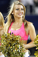 FIU Golden Dazzlers performing during the Troy/FIU Football game on Tuesday October 25, 2011.