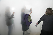 Mark and Mary Austin.   Antony Gormley - private view,  Hayward Gallery, South Bank, London, 16 May 2007.  -DO NOT ARCHIVE-© Copyright Photograph by Dafydd Jones. 248 Clapham Rd. London SW9 0PZ. Tel 0207 820 0771. www.dafjones.com.