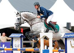 Bles Bart (NED) - Casanova<br /> 6 jarige Springpaarden<br /> KWPN Paardendagen Ermelo 2013