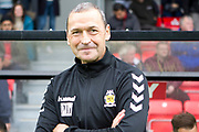 Colin Calderwood before the EFL Sky Bet League 2 match between Salford City and Cambridge United at Moor Lane, Salford, United Kingdom on 12 October 2019.