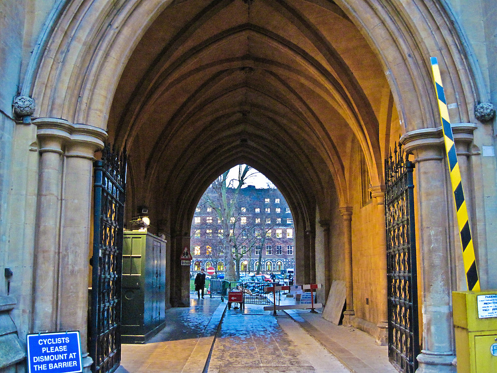 Entrance to the Westminster Courtyard