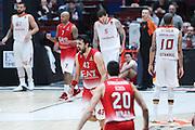 Simon Krunoslav, EA7 Emporio Armani Milano vs Galatasaray Odeabank Istanbul, EuroLega 2016/2017, Mediolanum Forum Milano 19 gennaio 2017
