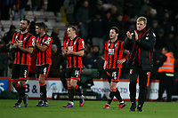 Football - 2016 / 2017 Premier League - AFC Bournemouth vs. Arsenal<br /> <br /> Bournemouth's Manager Eddie Howe applauds the crowd after the final whistle at Dean Court (The Vitality Stadium) Bournemouth<br /> <br /> COLORSPORT/SHAUN BOGGUST