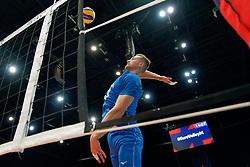 13-09-2019 NED: EC Volleyball 2019 Czech Republic - Ukraine, Rotterdam<br /> First round group D / Cze's Jan Galabov #13