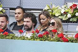 May 8, 2019 - Madrid, Spain - Sergio Llull during day five of the Mutua Madrid Open at La Caja Magica on May 08, 2019 in Madrid, Spain  (Credit Image: © Oscar Gonzalez/NurPhoto via ZUMA Press)