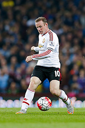 Wayne Rooney of Manchester United in action - Mandatory byline: Rogan Thomson/JMP - 07966 386802 - 14/08/2015 - FOOTBALL - Villa Park Stadium - Birmingham, England - Aston Villa v Manchester United - Barclays Premier League.