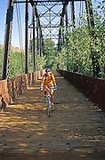Tracey Weber bikes the Wood River Trails, Ketchum Idaho