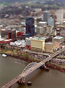BENJAMIN KRAIN --3/29/11--<br /> The Arkansas Highway Department is considering destroying and rebuilding the Broadway Bridge over the Arkansas River joining downtown Little Rock and North Little Rock.