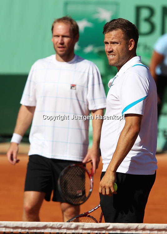 French Open 2011, Roland Garros,Paris,ITF Grand Slam Tennis Tournament , Doppel, Alexander Waske und Rainer Schuettler (beide GER),