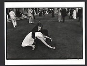 Alexander Fyjis-Walker dancing with Sarah Fazakerly during the Trinity Ball. Cambridge. 15 June 1981Exhibition in a Box