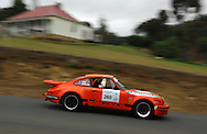 Bill Pye & Grant Geelan .1974 Porsche Carrera RS.Day 1.Targa Wrest Point 2009.Southern Tasmania.31st of January 2009.(C) Joel Strickland Photographics.