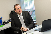 Photos taken of Robert Smith and Jeffrey Malbasa at the Spero Smith offices in Beachwood, Ohio on July 30, 2014.