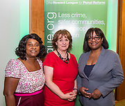 Baroness Doreen Lawrence, Frances Crook,  Diane Abbott MP. The Howard League for Penal reform's Community Awards 2015 The Kings Fund, London, UK. All use must be credited © prisonimage.org