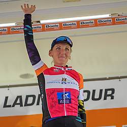 01-09-2017: Wielrennen: Boels Ladies Tour: Weert<br /> Lisa Brennauer wins stage 4 at Weert