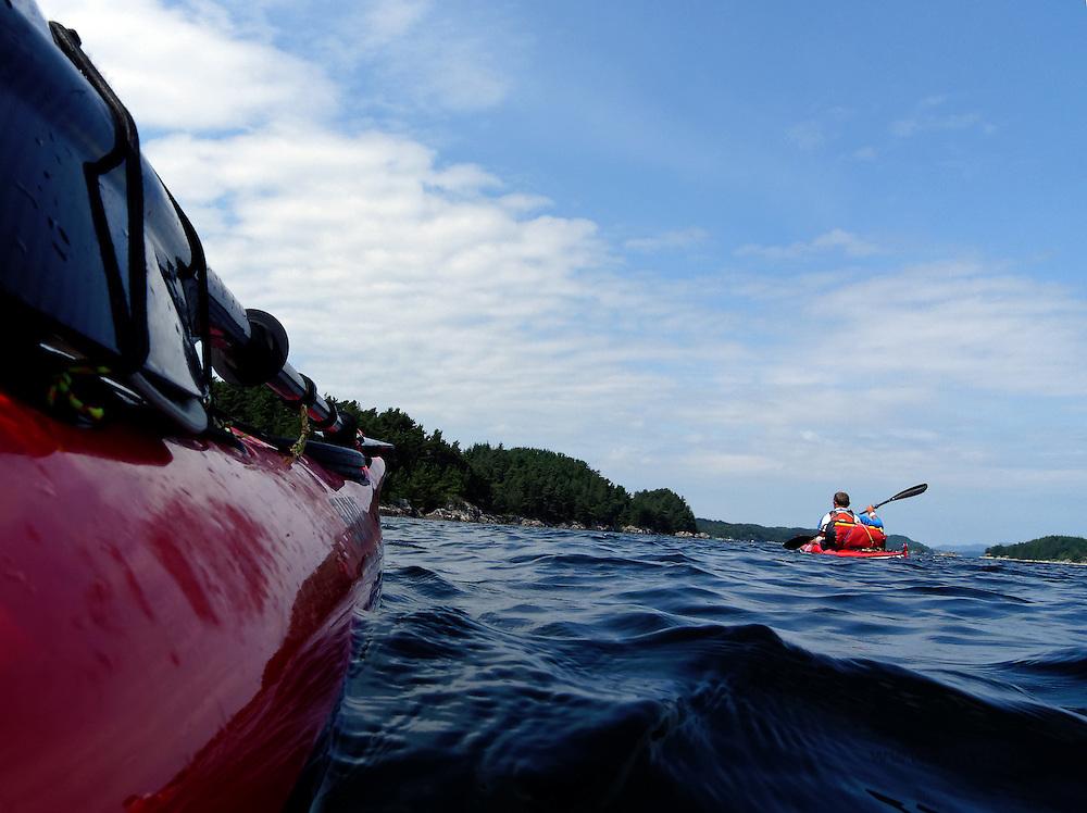 Kayaking in Bergen area
