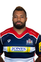 Jamal Ford-Robinson of Bristol Rugby - Rogan Thomson/JMP - 22/08/2016 - RUGBY UNION - Clifton Rugby Club - Bristol, England - Bristol Rugby Media Day 2016/17.