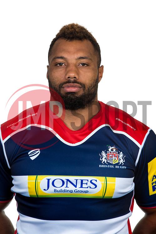 Jamal Ford-Robinson of Bristol Rugby - Rogan Thomson/JMP - 22/08/2016 - RUGBY UNION - Clifton Rugby Club - Bristol, England - Bristol Rugby Media Day 2016/17.