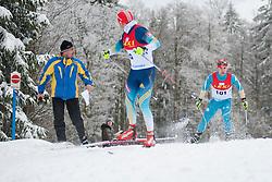 KOVALEVSKYI Anatolii Guide: MUKSHYN Oleksandr, Biathlon Middle Distance, Oberried, Germany