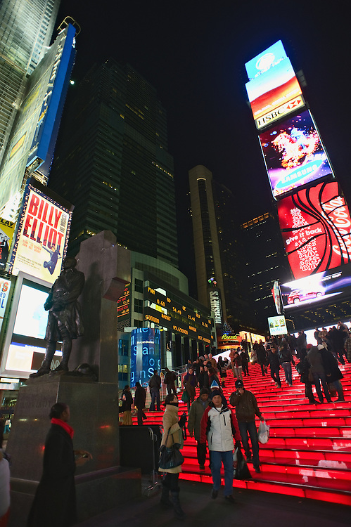 Times Square, New York, night, 2009